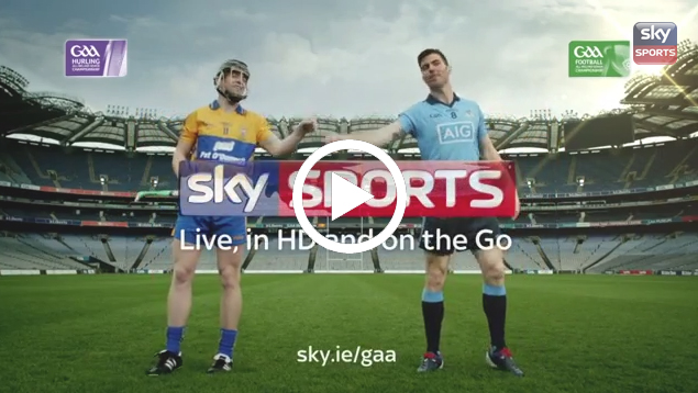 MDMA and Tony Kelly in Sky's first ever GAA ad