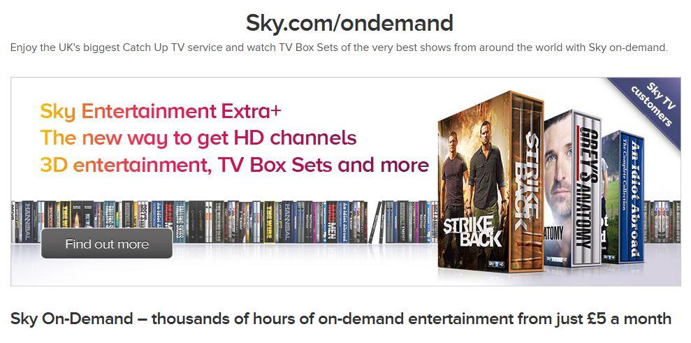 Sky package deals phone number