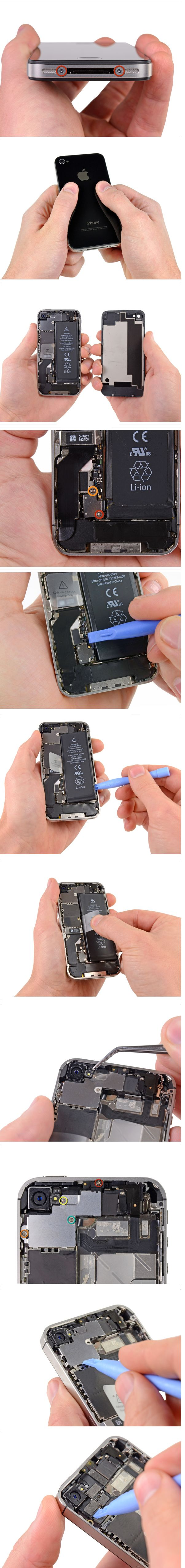iPhone 4S Rear Camera Replacement - contacttelephonenumbers.com