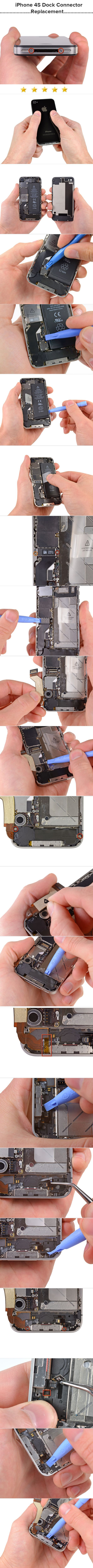 iPhone 4S Dock Connector Replacement