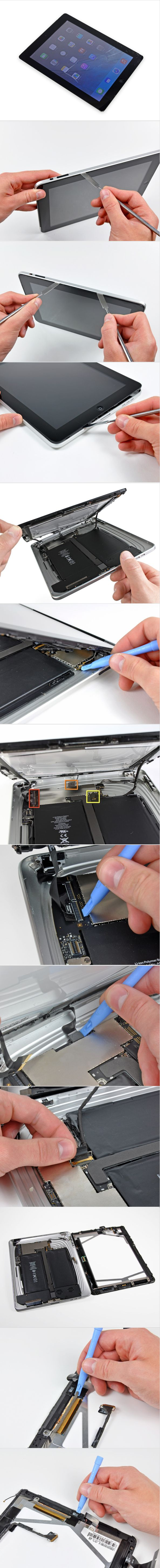 iPad 3G Ambient Light Sensor Replacement