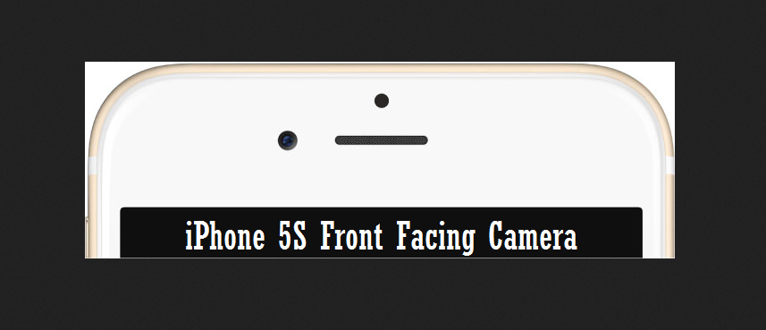 iPhone 5S Front Facing Camera replacement