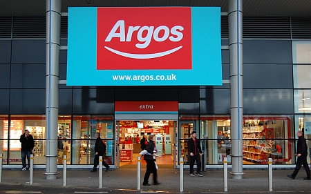 Argos customer contact number