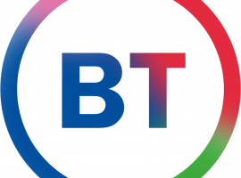 new BT logo