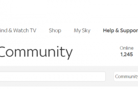 sky community contact