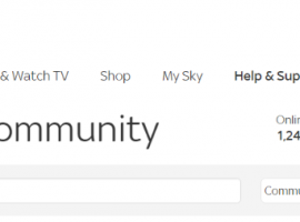 sky community contact