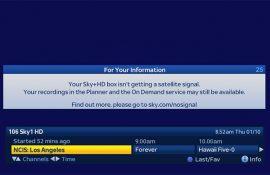sky picture broadband help
