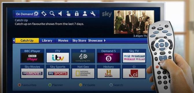 sky binge watching features